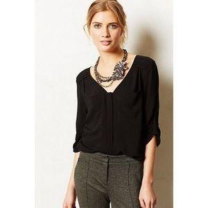 Edme & Esyllte estrie blouse from anthropologie